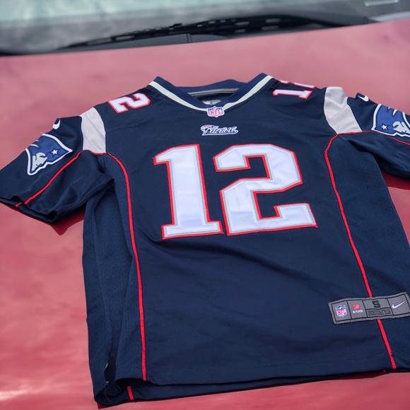 New England Patriots Tom Brady Jersey #12 (Mens)